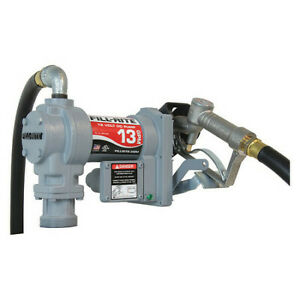 Fill rite Sd1202h Fuel Transfer Pump 12vdc 13 Gpm 1 6 Hp Cast Iron 1 Inlet