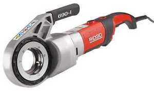 Ridgid 44923 Pipe Threading Machine 1 2 To 2 In
