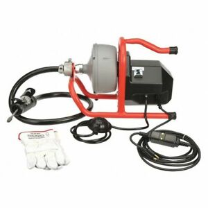 Drain Cleaning Machine 5 16x35 1 8 Hp Ridgid 71722