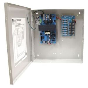 Power Supply 8out 12vdc Or 24vdc 4a Altronix Altv1224dc