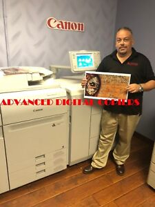 Canon Imagepress C700 With Fiery Server G100 Staple Finisher