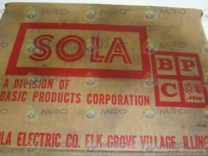 Sola Constant Voltage Transformer 22232 new In Box