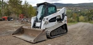2015 Bobcat T770 Track Skid Steer High Flow Low Hours Fully Loaded Finance