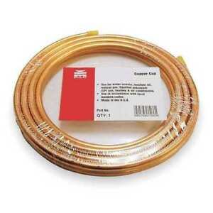 3 4 Od X 50 Ft Coil Copper Tubing Type Acr Mueller Industries 658r