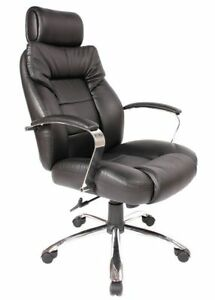 Comfort Products 60 5800t Big And Tall Executive Chair Foam Black