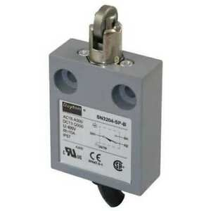 Spdt Limit Switch Cross Roller Plunger Ip 67 Dayton 12t934