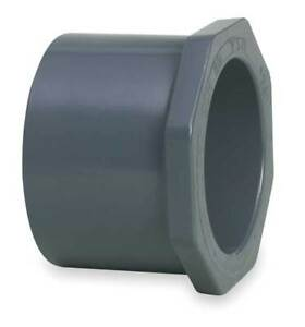 6 X 4 Spigot Pvc Reducer Bushing Sched 80 Gf Piping Systems 837 532