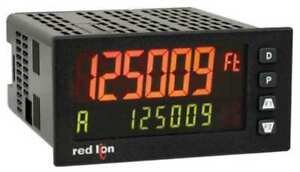 Red Lion Pax2d000 Digital Panel Meter universal Output