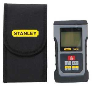 Distance Measure laser 165 Ft lcd Stanley Stht77139