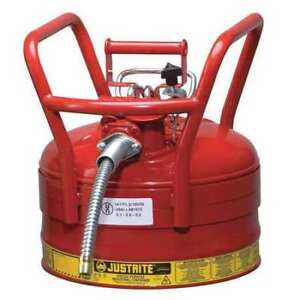 Type Ii Dot Safety Can 16 1 2 In H red Justrite 7325130