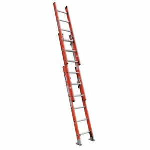 Extension Ladder Fiberglass 20 Ft Ia Werner D6220 3