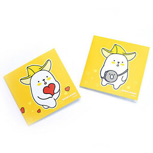 Bana nana Sticky Post It Notes Bookmark Memo Pad Index Tab Point Marker