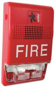 Horn Strobe marked Fire red