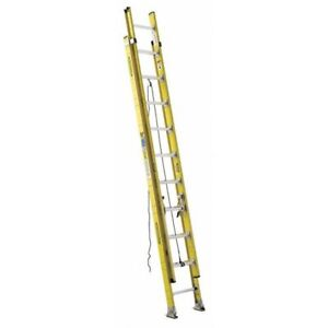Extension Ladder Fiberglass 20 Ft Iaa Werner 7120 2