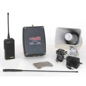 Ritron Lm u450system Wireless Pa Speaker System uhf