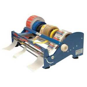 Multi Roll Tape And Label Dispenser blue Start International Sl9518