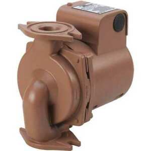 Taco 2400 20s 3p Hot Water Circulator Pump ss 1 6hp
