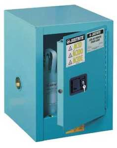 Corrosive Safety Cabinet steel 22 In H Justrite 890422