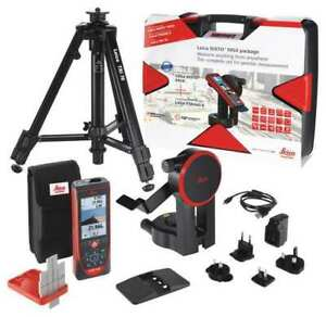 Leica Disto S910 Pro Package Laser Distance Meter Kit lcd 1000 Ft