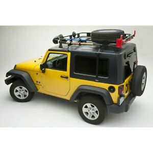 Surco J500 Hard Top Black Adapter For 1997 2006 Jeep Wrangler Tj