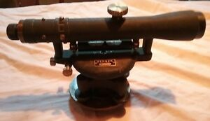 vintage Surveyors Transit Level made By Berger collectible l k