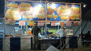 Food Concession Stand With Trailer Ready To Work
