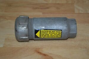 New Oz Gedney ax125 Expansion Coupling 1 1 4 Nos