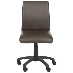 Hal Brown Faux Leather Office Chair Free Shipping