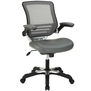 Edge Mesh Office Chair In Gray Free Shipping