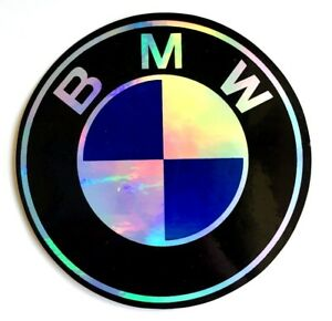 Bmw 3 5 Sticker Decal Car Window 3d Reflective Car Laptop Emblem Windshield