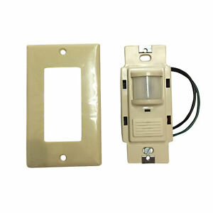 Sensor Switch Wsd pdt p Dual Technology Dual Relay Occupancy Sensor Ivory