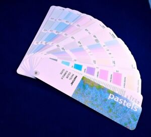 Vintage Pantone Pastel Color Formula Guide 1995 Fan