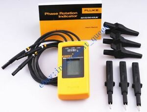 Fluke 9040 Digital Phase Rotation Indicator Tester Meters 40 700v F9040