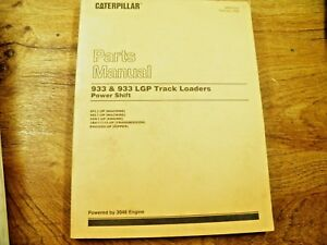 Cat Caterpillar 933 933 Lgp Track Loader Parts Manual 8fl 9el