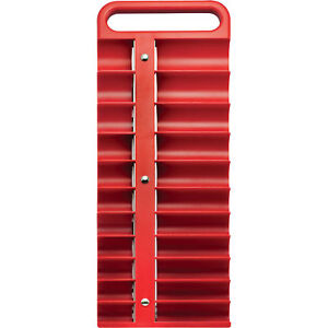 Strongway 1 2in Drive Magnetic Socket Holder Sae And Metric Red