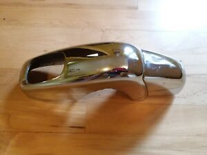 Porsche 356 B C Bumper Guard Right Rear Nice Original Chrome And Condition