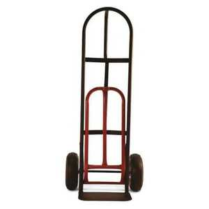 D handle Truck with Nose Plate Extension Milwaukee Hand Trucks Dc49515
