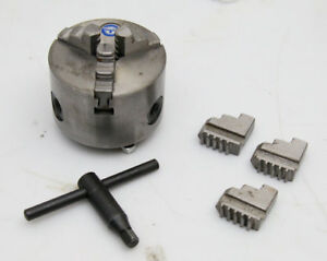 Tian Pai 3 3 Jaw Lathe Chuck With Key And Extra Jaws