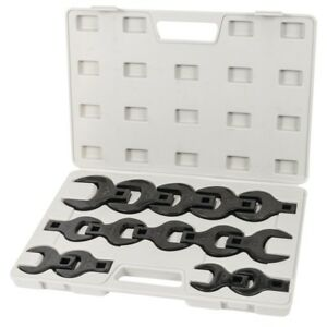Titan 17299 14 Piece 1 2 Drive Jumbo Mm Crowsfoot Wrench Set