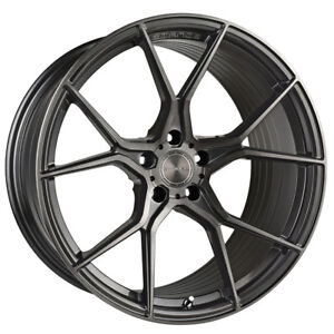 19 Stance Sf07 Forged Gunmetal Concave Wheels Rims Fits Honda Accord