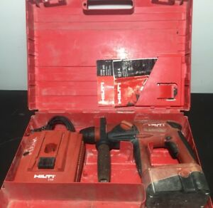 hilti te 2 a 24 Volt Cordless Hammer Drill W charger Case