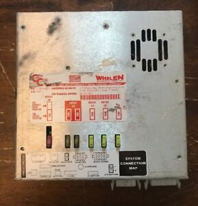 Whelen Amplifier Relay Module With Traffic Advisor P n 01 0285910 010