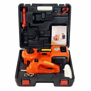 New Marchinn 12v Dc 5 0t Electric Hydraulic Floor Jack And Tire Inflator Fast