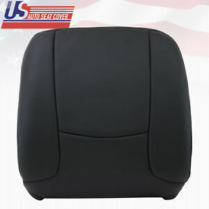 2003 Dodge Ram Work Truck Driver Lean Back Dark Gray synthetic Seat Cover