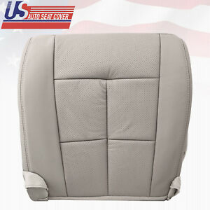2011 2012 2013 Lincoln Navigator Driver Bottom Seat Cover Medium Stone Gray Tl