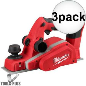 Milwaukee 2623 20 M18 3 1 4 Planer tool Only 3x New