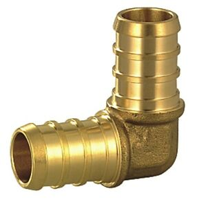 100 Pcs 1 2 Brass Tees Elbows And Couplings For Pex