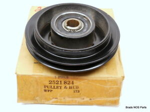 Nos Mopar 1968 73 Plymouth Chrysler Dodge A C Compressor Pulley