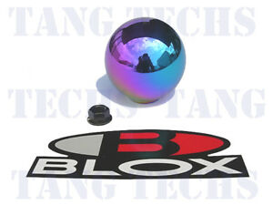 Blox 490 Limited Spherical Neo Chrome Shift Knob 10x1 5mm Bxac 00240 neo