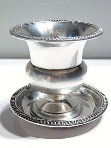 Birks Sterling Silver 3 Cup And Matching Dish Plate 2 1 2 Ounces 75 Grams